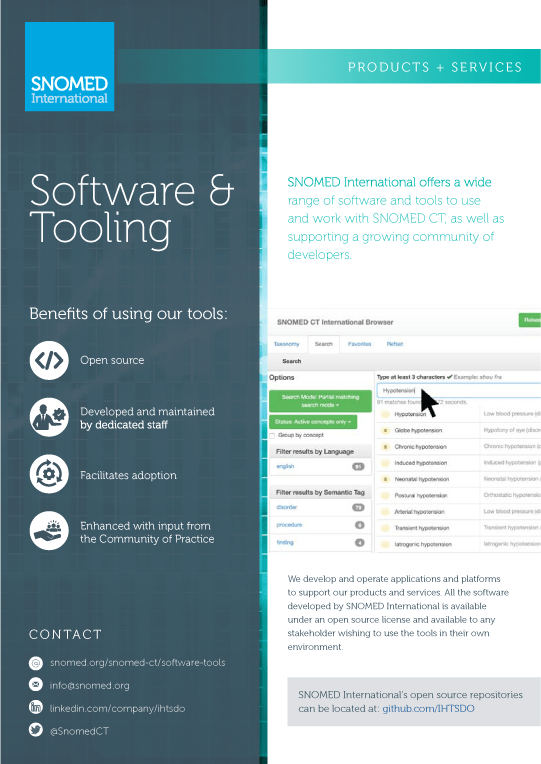 Software and Tooling